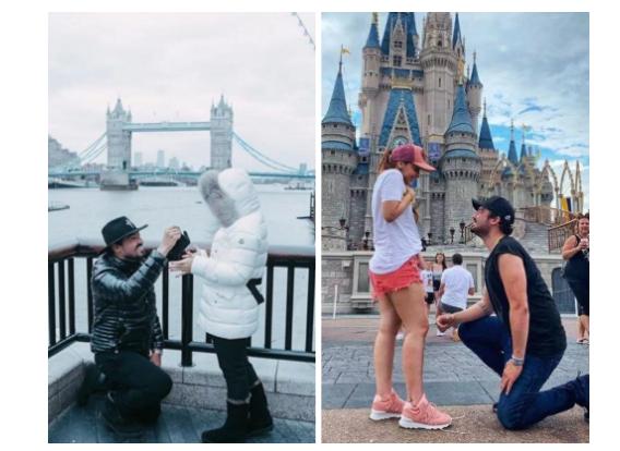 Casal sertanejo, Fernando e Maiara recriam brincadeira de pedido de casamento (Foto: Reprodução/Instagram)