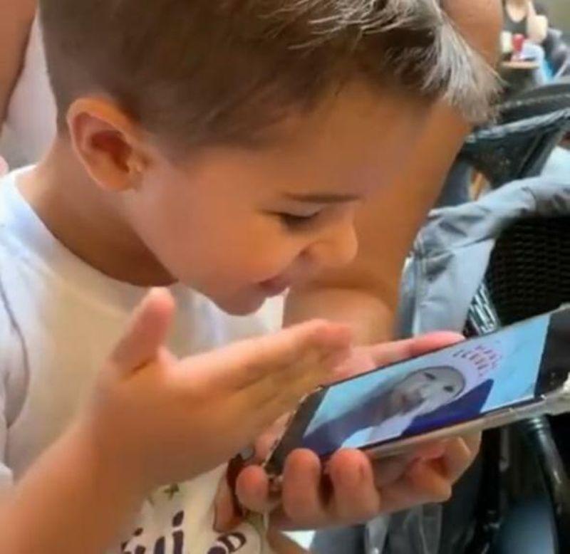 Filho de Ana Carolina (Foto: Reprodução)