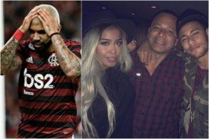 Gabigol se complica com família de Rafaella Santos. Foto: Reprodução