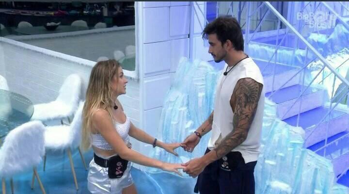 Gabi dispensa Guilherme e justifica durante conversa no BBB 20 (Foto: Reprodução/Globo)