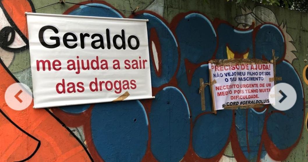 Público pede ajuda de Geraldo Luís na saída da Record (foto: reprodução/Instagram)