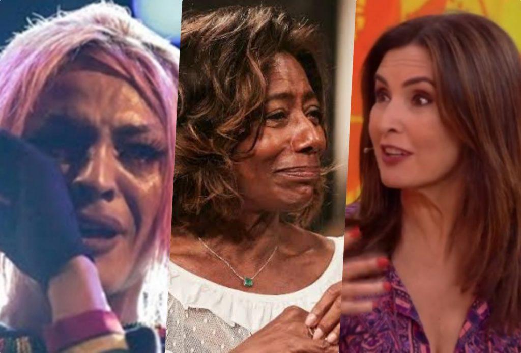 Pabllo Vittar, Gloria Maria e Fátima Bernardes recebem aviso de famosa vidente (Foto reprodução)