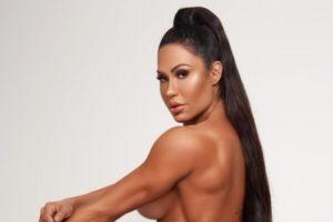 A modelo fitness Gracyanne Barbosa (Foto: reprodução)