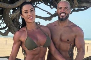 Gracyanne Barbosa e o marido, Belo (Reprodução)