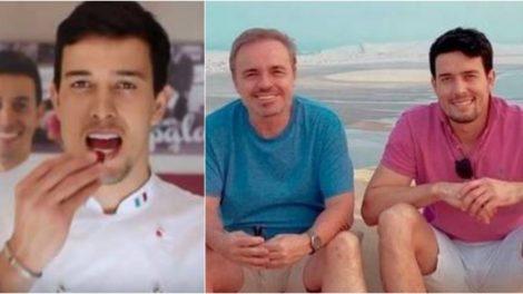 Fotos do suposto namorado de Gugu Liberato (Foto reprodução Metrópoles)