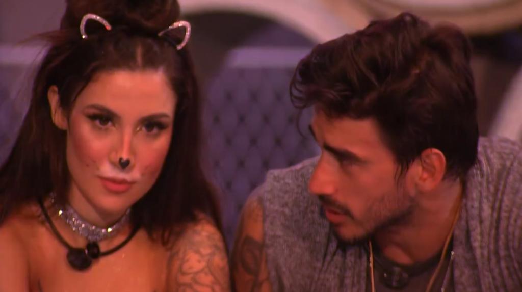 Guilherme pede desculpas a Bianca após desentendimento (Foto: Reprodução/Globo)