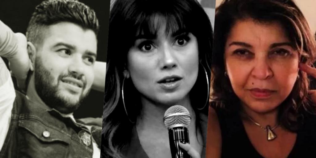 Barraco envolvendo grandes nomes como Gusttavo Lima, Paula Fernandes e Roberta Miranda já foi amplamente divulgado (Foto montagem: TV Foco)