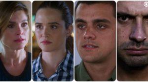 Helena, Zezinho, Téo e Luna são personagens de Salve-se Quem Puder