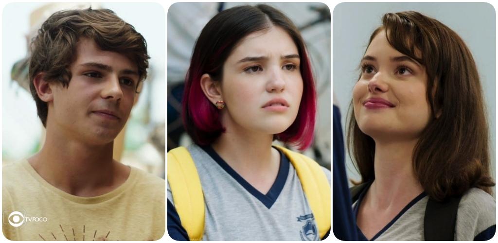 Fafi, Henrique e Andressa se envolve em um estranho triângulo Amoroso em Malhação