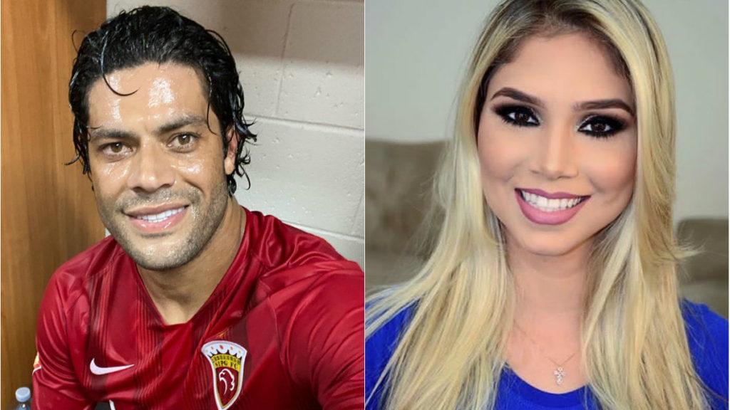 Hulk e a nova namorada, Camila Ângelo (Foto: Reprodução/ Montagem)