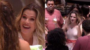 Ingrid Guimarães entrou na casa do BBB20 nesta terça-feira (18) (Foto: reprodução)