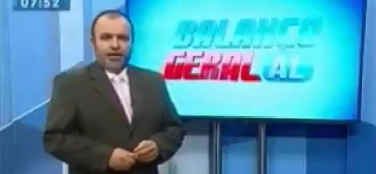 Jeferson Morais foi o primeiro apresentador do Balanço Geral em Alagoas (foto: reprodução/TV Pajuçara)