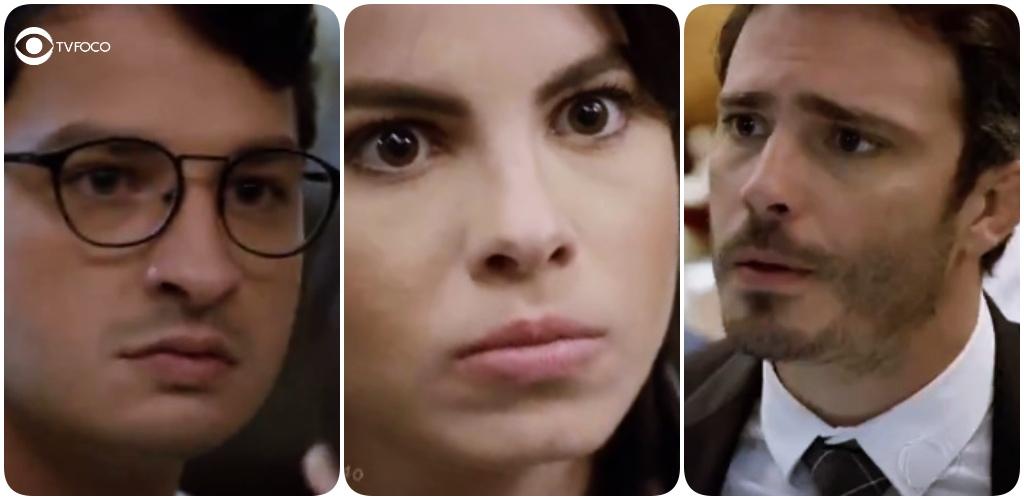 Vai ter briga em José Antonio, Donatella e Tobias na novela Amor Sem Igual