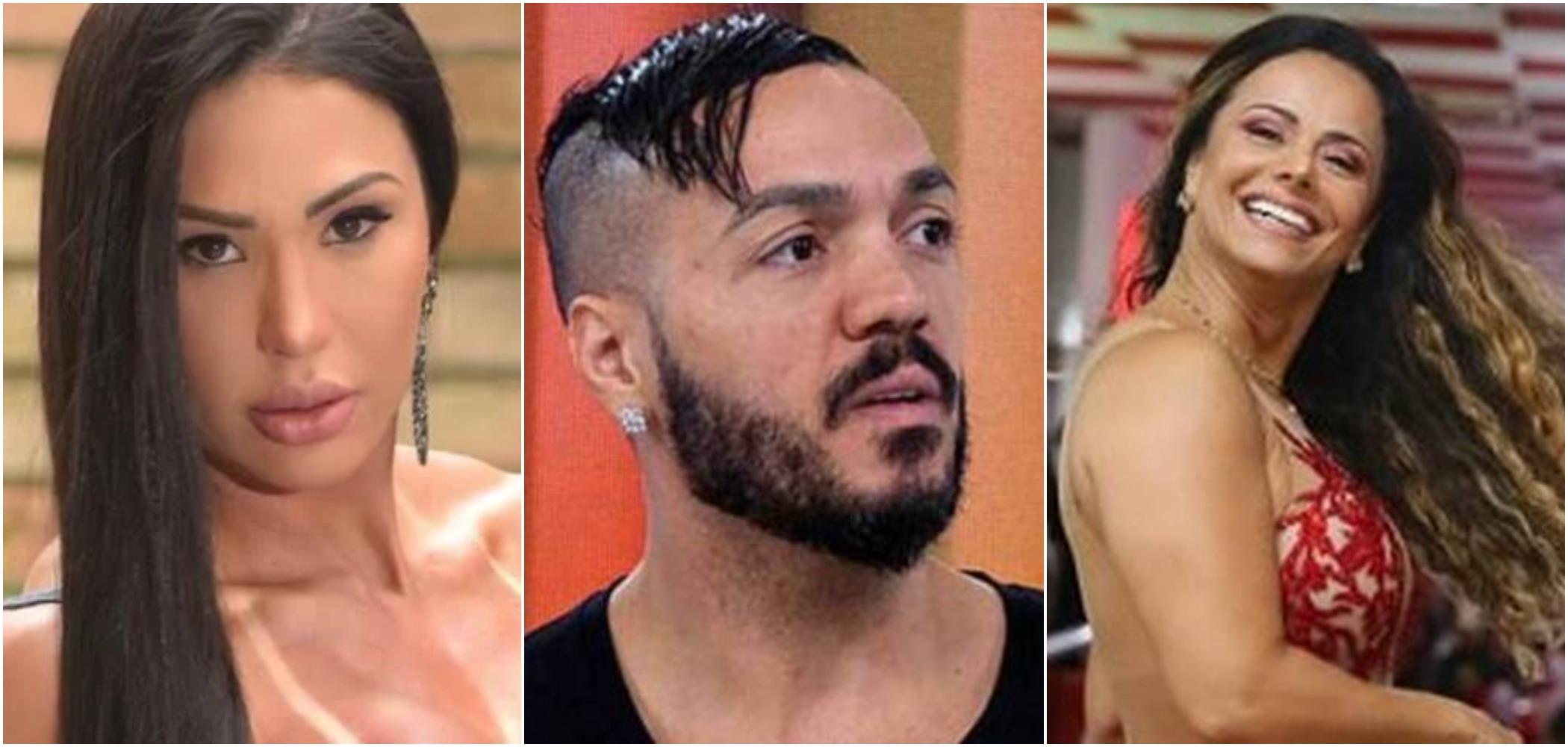 Gracyanne Barbosa alfinetou e disse que Viviane Araújo estava divulgando o trabalho de Belo (Reprodução: redes sociais)