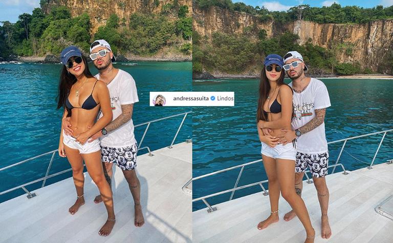 Kevinho curte viagem com nova namorada - Instagram