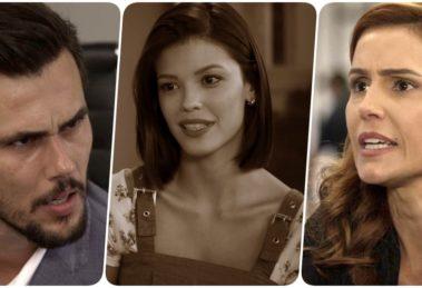 Rafael fica abismado com a proposta de Alexia na novela Salve-se Quem Puder
