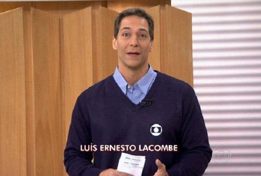 O jornalista Luís Ernesto Lacombe foi da Globo por muito tempo - Foto: Reprodução