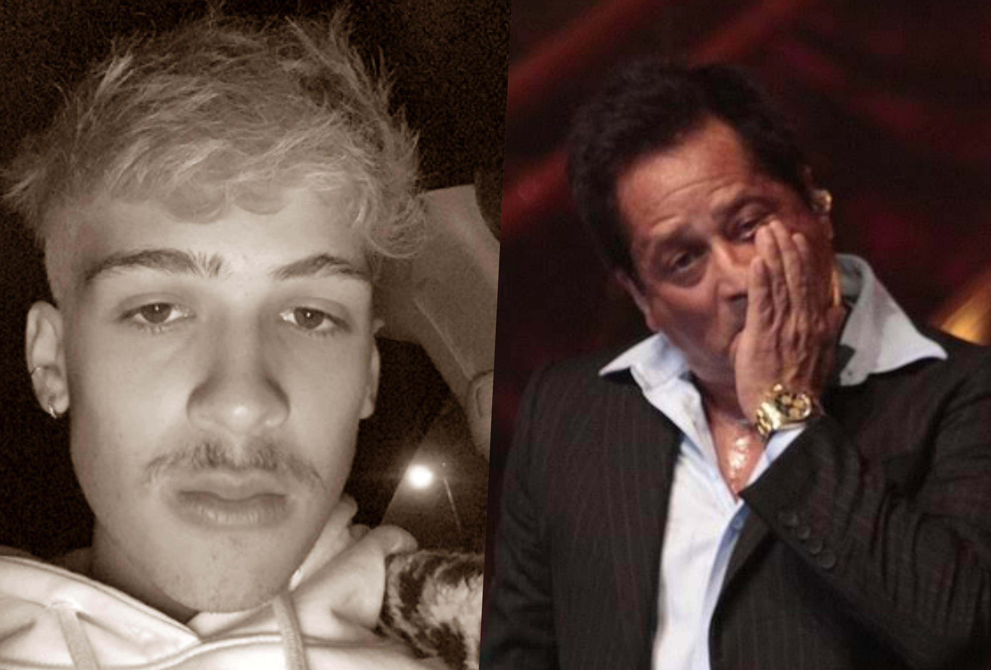 O cantor Leonardo e o filho João Guilherme nunca tiveram uma relação muito próxima (Foto reprodução)