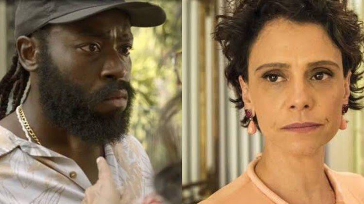 Lídia (Malu Galli) e Marconi (Douglas Silva) em Amor de Mãe (Montagem: TV Foco)