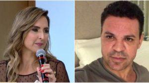 Eduardo Costa e a ex-esposa, Lília Araújo (Reprodução)