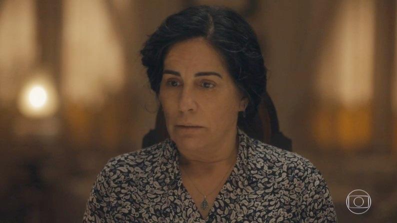 Gloria Pires vive a protagonista Lola em Éramos Seis; autora escreveu cenas secretas (Foto: Reprodução/Globo)