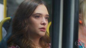 Luna (Juliana Paiva) reencontrará seu anjo da guarda em Salve-se Quem Puder (Foto: Reprodução/Globo)