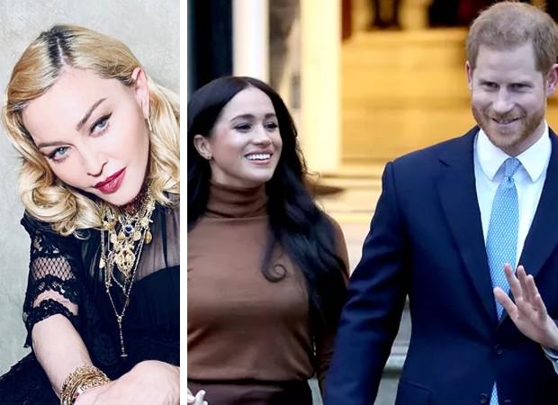 Madonna oferece apartamento para Meghan Markle e Harry (Foto: Reprodução)