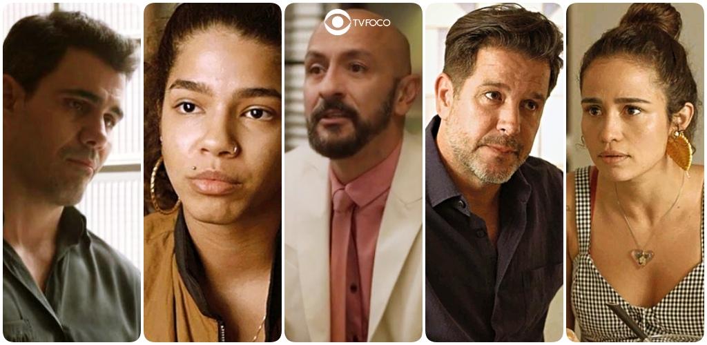 Magno, Verena, Álvaro, Raul e Érica são personagens de Amor de Mãe