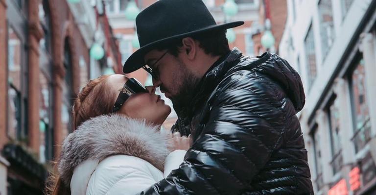 Fernando Zor e Maiara fazem viagem romântica (Foto: Reprodução/Instagram)