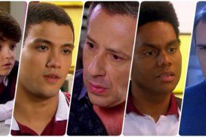 Mário, Jeff, Guilherme, Pendleton e Roger são personagens de As Aventuras de Poliana