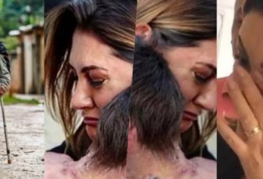 Michelle Bolsonaro tem atitude com crianças após acusação de abandono de avó em esgoto a céu aberto