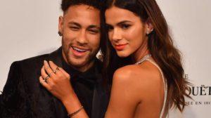 Neymar ao lado da ex, a atriz Bruna Marquezine - Foto: Divulgação