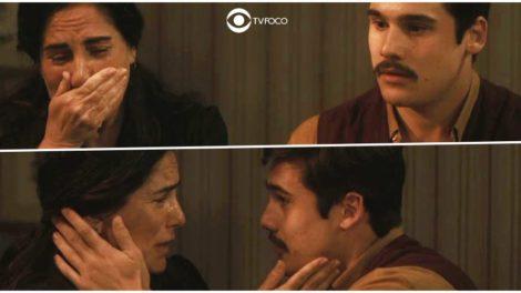 Alfredo faz desabafo dilacerante para Lola na novela Éramos Seis