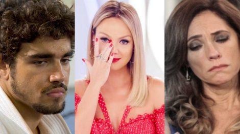 Eliana, Caio Castro e outros famosos que perderam seus filhos e você não sabia (Foto: montagem TV Foco)
