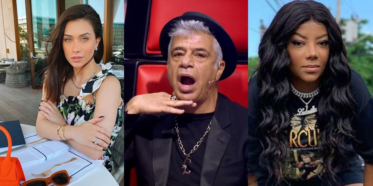 Flávia Pavanelli, Ludmilla e Lulu Santos são surpreendidos em público e dizem sim para contrato vitalício (Foto: montagem TV Foco)