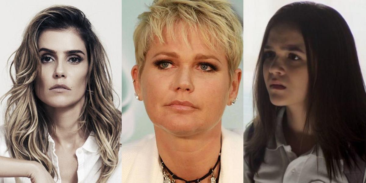 """Mel Maia, Deborah Secco e Xuxa se vestem de coragem e denunciam assédio: """"aterrorizante!"""" (Foto: montagem TV Foco)"""