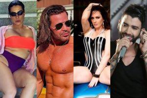 Famosos fazem revelações sobre sexo, entre eles Gusttavo Lima, Cleo, Eduardo Costa e Nubia Oliiver (Foto: reprodução)