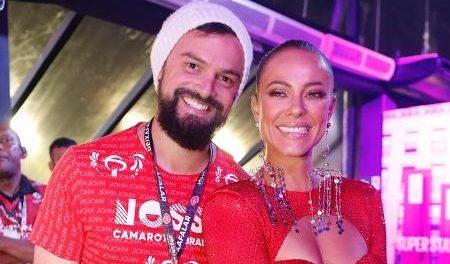 Paolla Oliveira resolveu assumir o namoro com Douglas Maluf publicamente