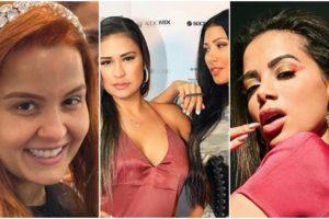 Simone e Simaria foram questionadas sobre a inimizade com Anitta e Maiara (Foto: Reprodução)