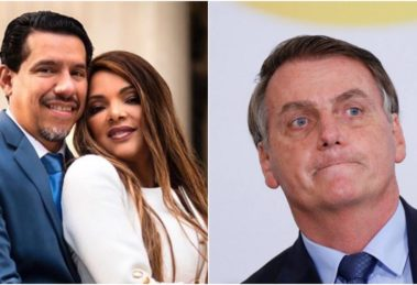 Flordelis, mulher de Anderson do Carmo, falou de sua relação com Bolsonaro (Foto: Reprodução)