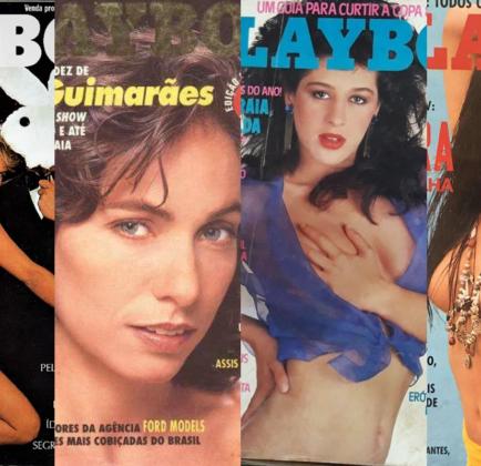 Celebridades que já foram capa da Revista Playboy (Foto: Montagem TV Foco)