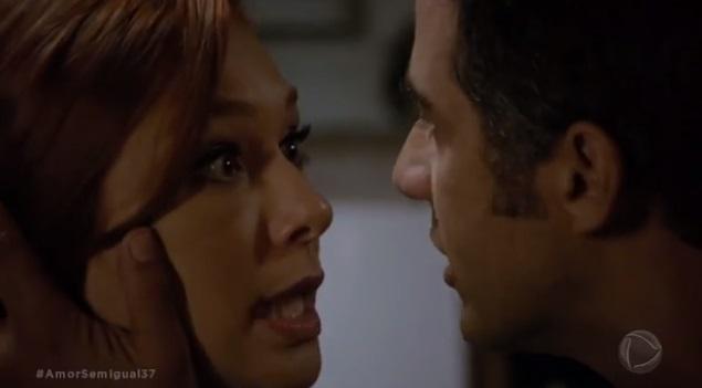 Miguel enfrenta a fúria da Poderosa em cena de Amor Sem Igual
