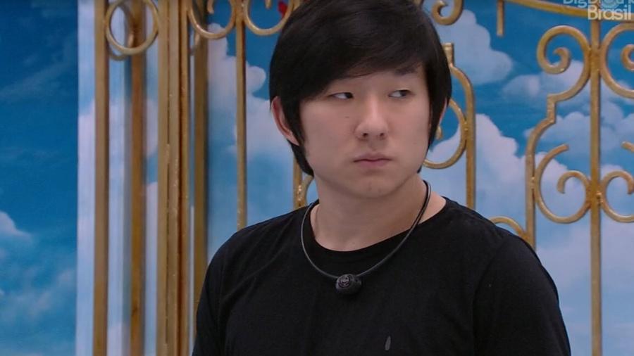 Pyong Lee se preocupa com repercussão da imagem fora do Big Brother Brasil 20. Foto: Globo BBB20