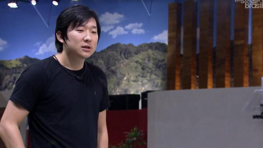 Pyong mostrou sua verdadeira face no BBB20 (Foto: Divulgação)