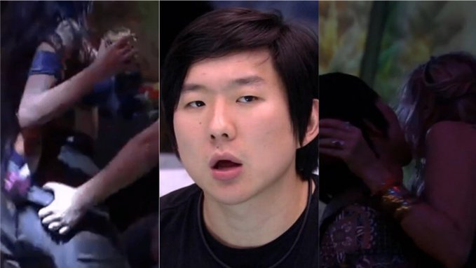 Pyong Lee passa do ponto e vira polêmica no BBB20 (Foto: Reprodução)
