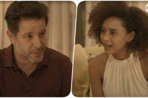 Raul quer ficar com Vitória, mas ela quer ficar com ele em Amor de Mãe?