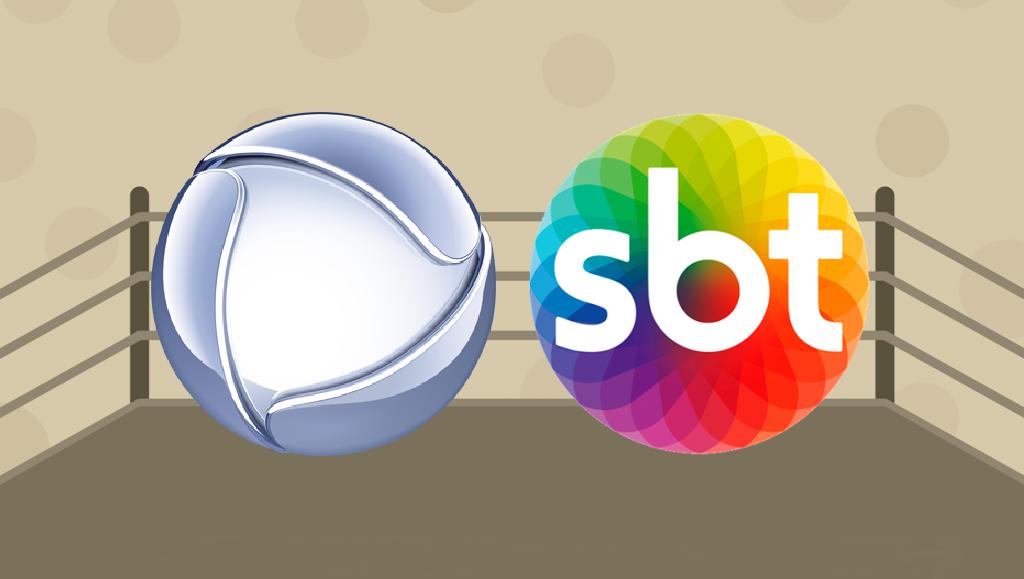 Record e SBT disputam intensamente a vice-liderança (foto: Montagem/TV Foco)