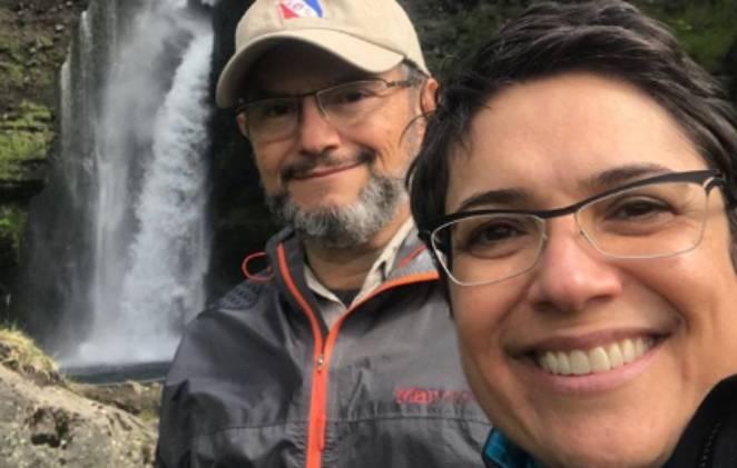 Poucas pessoas sabiam que Sandra Annenberg era casada com Ernesto Paglia (Foto: Reprodução/ Instagram)