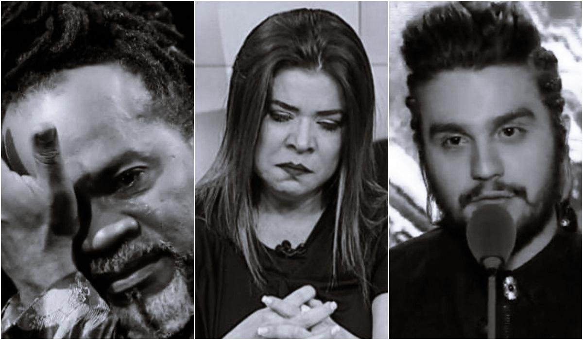 Sensitiva faz previsões sobre Carlinhos Brown, Mara Maravilha e Luan Santana (Foto: Reprodução)