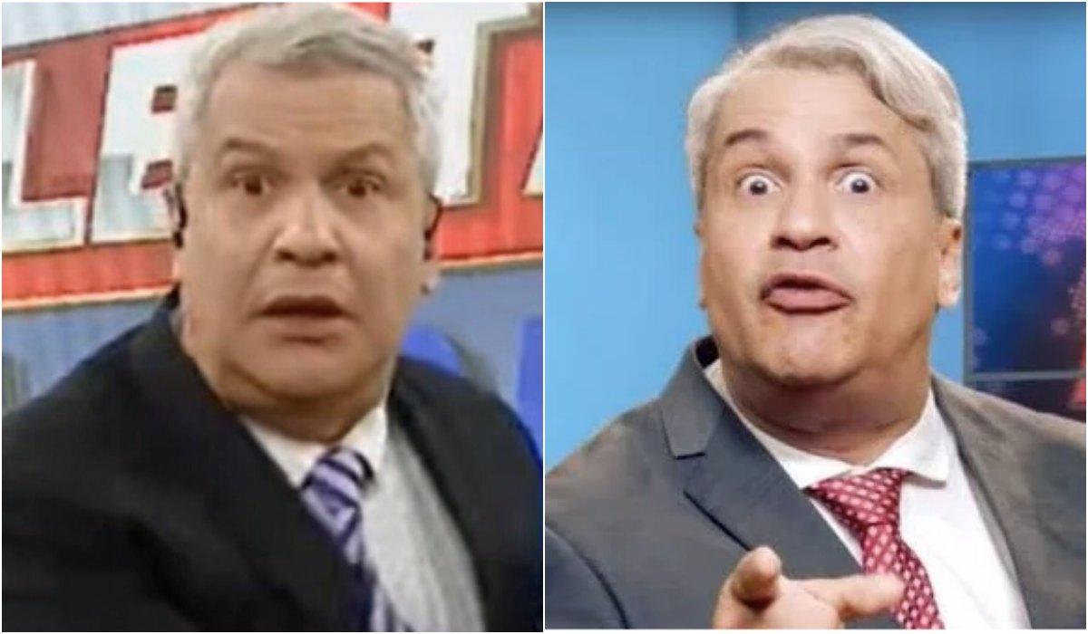Sikêra Jr perdeu a noção e levou puxão de orelha na RedeTV! Foto: Reprodução
